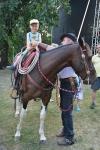 Špáňův kůň s malým obdivovatelem