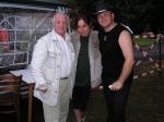hlavní pořadatelka s Pavlem Bobkem a Petrem Kocmanem 2004