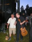 Honza Nedvěd v rozhovoru s prezidentem festivalu 2010