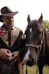 Špáňa se svým koněm 2010