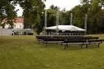 přípravy festivalu 2009
