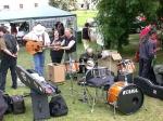 Taxmeni - příprava na vystoupení 2002